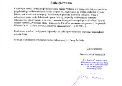4. Tomasz Jusza